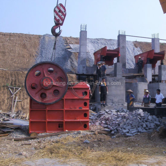 Pex Series Brick Rock Crushing Machine for Good Price