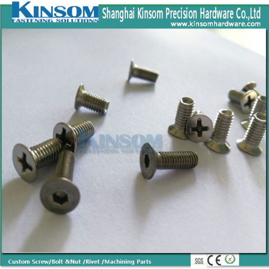 Countersunk Phillips Hexagonal Stainless Steel 304 316 Screw M4 M5 pictures & photos