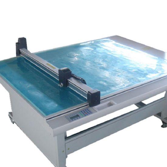Flatbed CNC Corrugated Box Sample Cutting Plotter Machine for Box Making Company