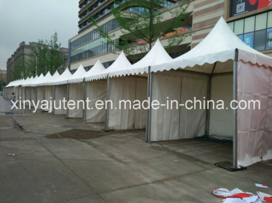 China pagoda gazebo event tent with pvc cover for food festival car