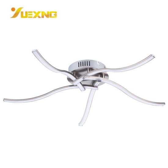China Home Office Decoration Strip Metal Led Creative Adjustable Bright Round Ceiling Mount Lamp China Hotel Lighting Ceiling Light