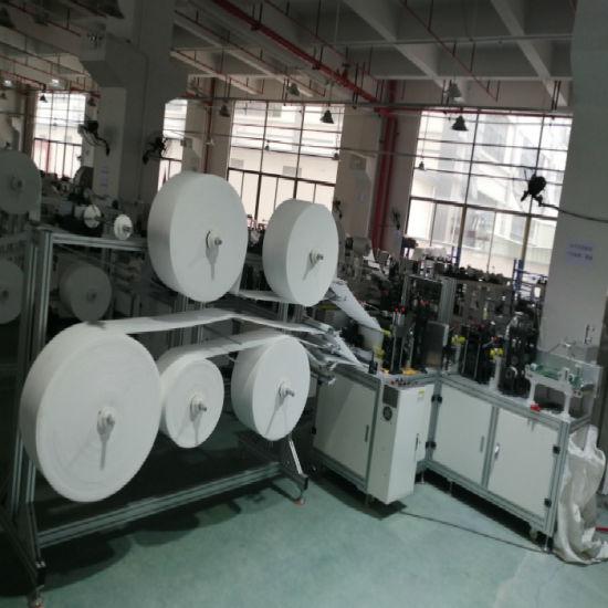 FFP2 N95 Face Mask Body Making Machine for Folding Mask Making Machine