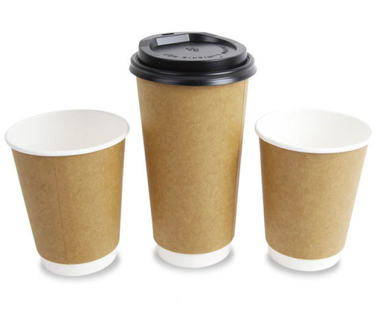 China Recyclable Disposable Double Walled Insulated Hot Coffee Paper Cups - China Paper Cups and Double Wall Cafe Paper Cup price