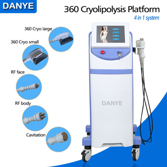 New 360 Cryolipolysis Anti Aging and Weight Loss Beauty Salon Slimming Equipment with Cheaper Price