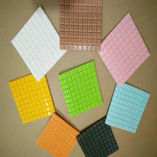 Waterproof Self Stick Wall Paper New Type Mosaic Tile Flexible Foam Brick