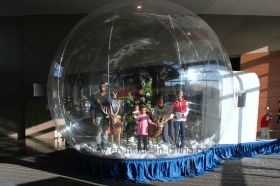 7.5m Diameter Huge Giant Snow Globe Walk in Snow Globe Inflatable pictures & photos