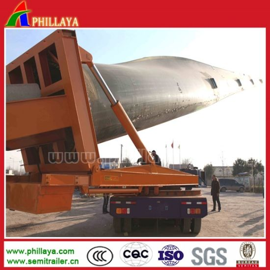 20-60ton Air Duct Carrier Wind Blade Trailer with Extandable Type pictures & photos