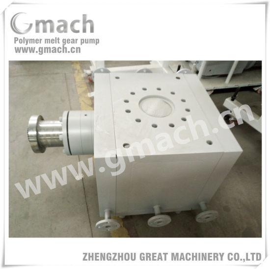 Gmach High Pressure Large Flow Rate Melt Gear Pump for Plastic Extruder