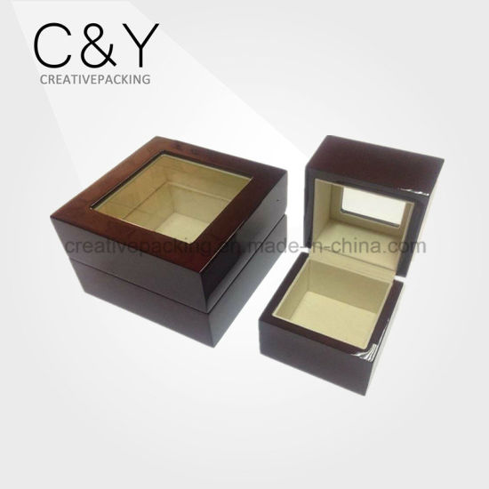 Luxury Matt Lacquered Oudh Wooden Packaging Box pictures & photos