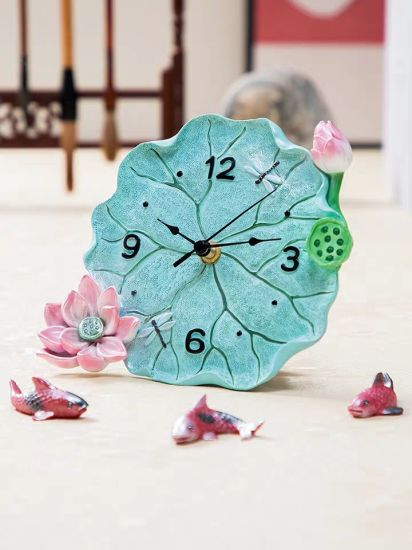 Polyresin/Resin Craft Wall Decoration Wall Clock