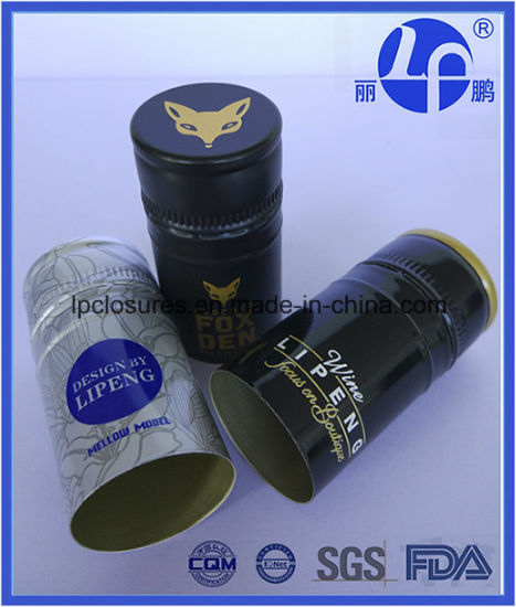 30*60mm Ropp Caps for Wine with Saran-Tin/Nex From China pictures & photos
