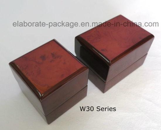 China Custom High Quality Wood Jewelry Packaging Box Wholesale