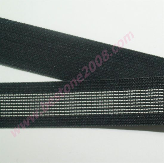 High Quality Anti-Slippery Elastic Band Webbing pictures & photos