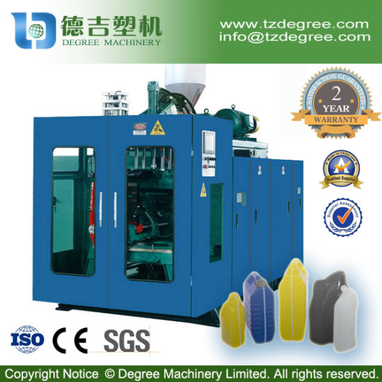 Taizhou Factory HDPE Bottle Automatic Extrusion Blow Moulding Machine Price pictures & photos