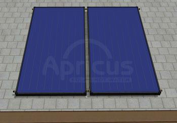 Flat Plate High Pressure Split Blue Absorber Solar Collector