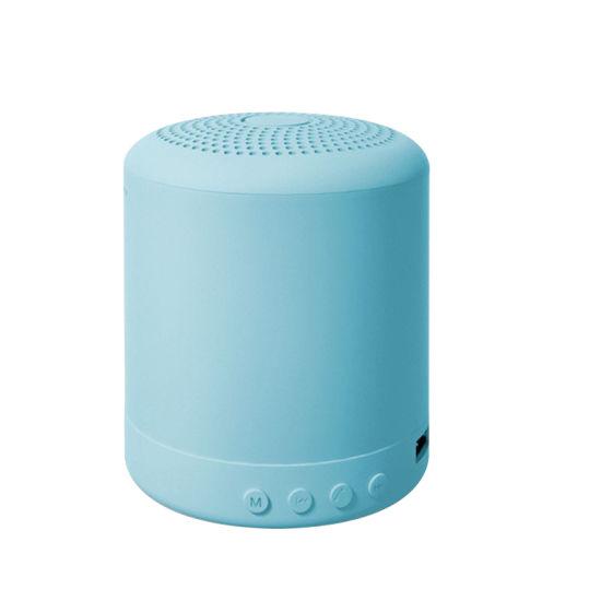 2021 New Arrivals Macaron Stereo Loudspeaker Outdoor Mini Portable Wireless Bluetooth Speaker
