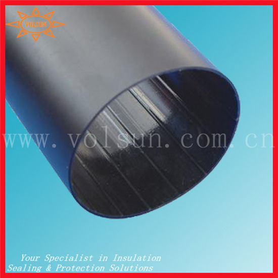 Heat Shrinkable Thick Wall PE Tube for Cable Connection