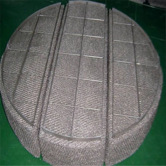 Stainless Steel Glass Fiber Mixed Knitting Wire Mesh Demister