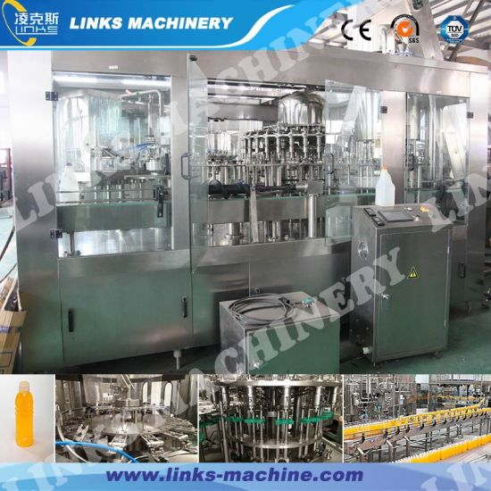 Full Automatic Juice Drinking Filling Machine
