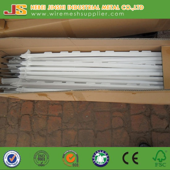 1.2m White Plastic Stake Electric Fence Post for Livestock Made in China