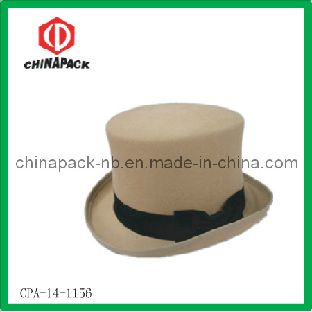 Wool Silk Top Beaver High Cylinder Chimney Pot Hat pictures & photos