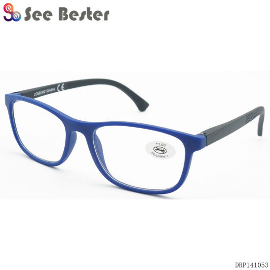 Unisex Fashionable Plastic Reading Glasses, FDA, Ce Certified pictures & photos
