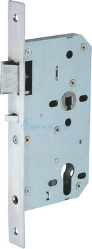 High Quality Stainless Steel Fireproof Door Lock, Anti-Thrust Night Latch pictures & photos