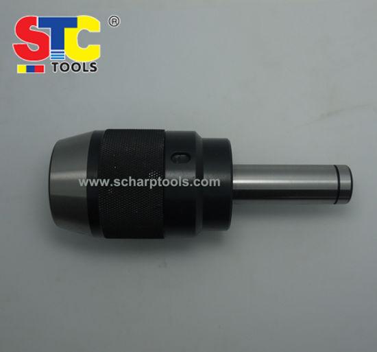 1-16mm MT3 Morse Taper Integrated Shank Arbor Keyless Precision Drill Mill Chuck