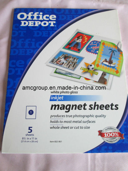 Magnetic Inkjet Photo Paper pictures & photos