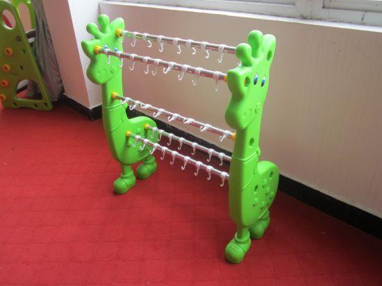 China Supplier Kids Small Plastic Rabbit Towel Shelf for Kids on Sale