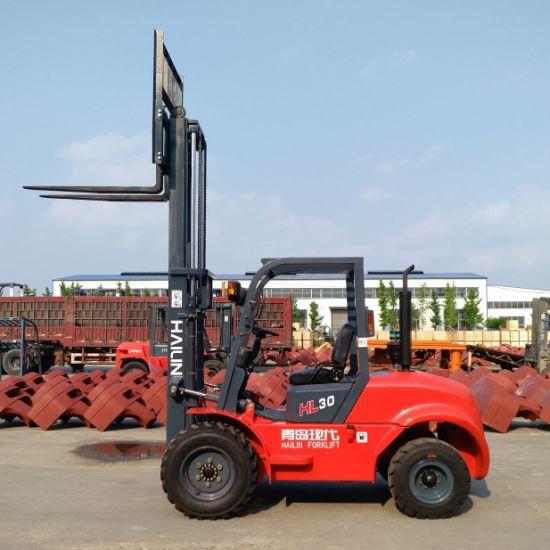 3.0ton Rough Terrain Forklift, High Quality