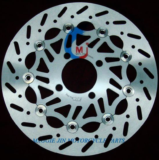 Motorcycle Parts Floating Motor Brake Disc of Cast-Iron 2Cr13 pictures & photos