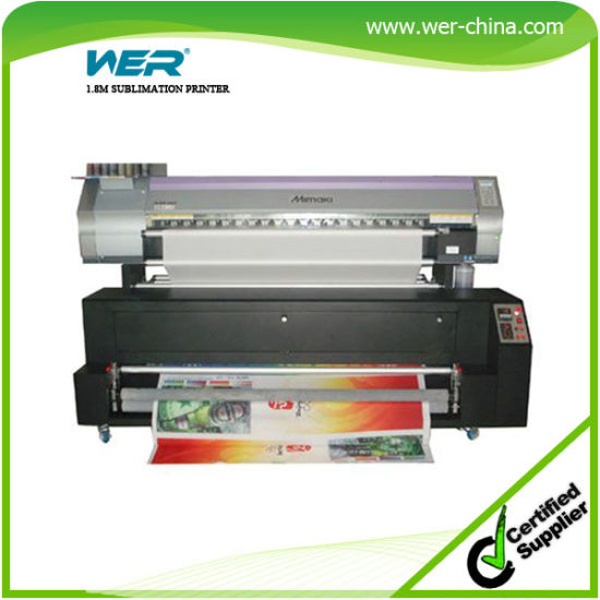 Printing on Fabric and Shower Curtain with Epson Dx5 Head 1440dpi 1.8m Sublimation Printer