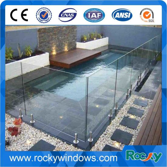 4+4, 5+5, 6+6mm Laminated Glass Pool Fencing pictures & photos