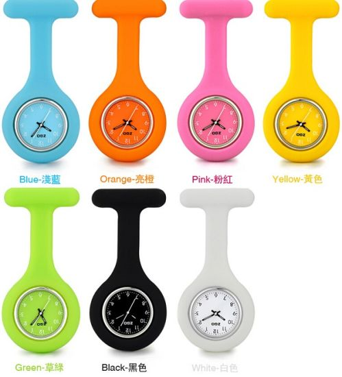 Custom Silicone Rubber Nurse Watches pictures & photos