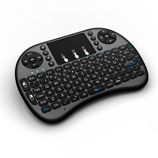 2.4G Wireless Mini Keyboard with Touch Pad Control for Smart TV pictures & photos