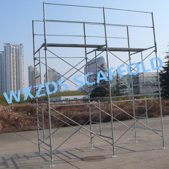 Zds Door Frame /Stair Frame/Walking Frame Scaffold/Frame Scaffolding System
