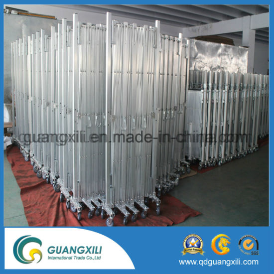 Traffic Aluminum Crowd Control Expandable Barrier pictures & photos