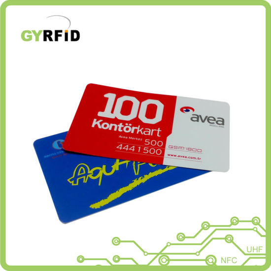 Long Range RFID Card Micro Smartcard for Employee Attendance (ISO) pictures & photos