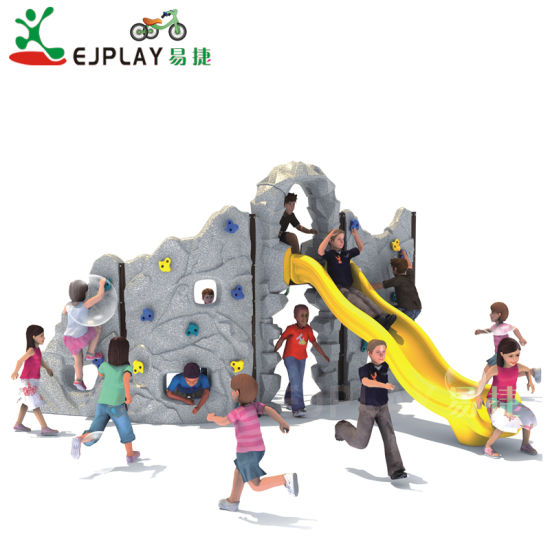 Outdoor Climbers Physical Playground Equipment Rocking Climbing Wall