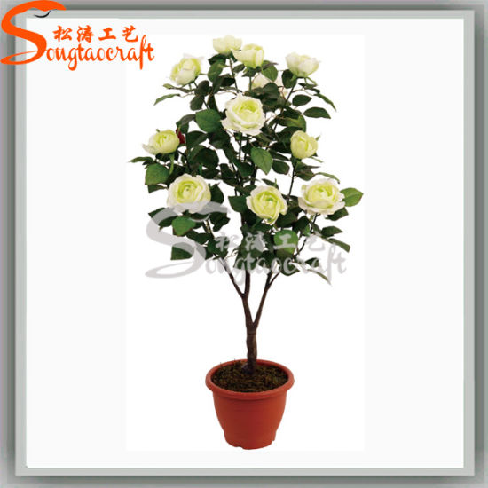china ome indoor decoration fake potted plant flower tree - china