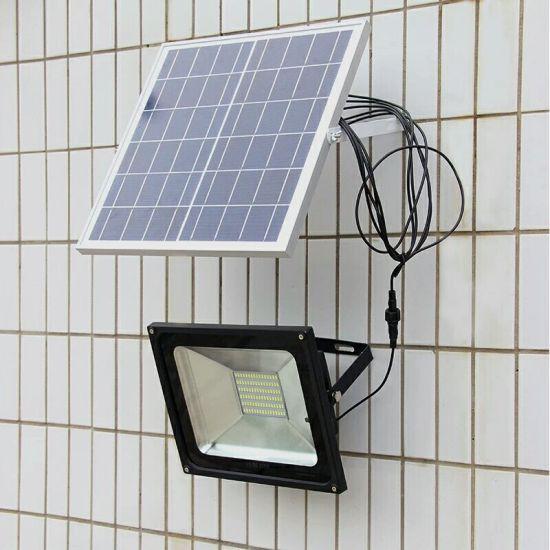 China Outdoor Solar Street Light Solar Flood Light With Remote