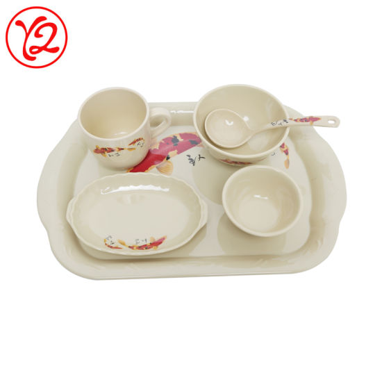 Wholesale Custom Printed Melamine Dinner Set French Dinnerware for Sale  sc 1 st  Zhongshan Kuang Jann Industrial Melamine Tableware Co. Ltd. & China Wholesale Custom Printed Melamine Dinner Set French Dinnerware ...