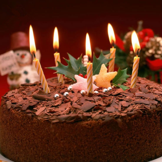 Long Thin Cake Birthday Candles