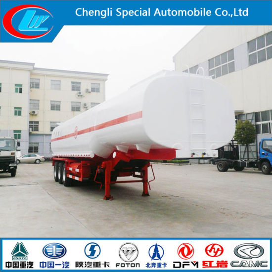 Tri-Axle 38cbm Fuel Delivey Semi Trailer for Hot Sale pictures & photos