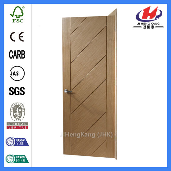 China Western Veneer Interior Wooden Flush Door Jhk Fc07 China