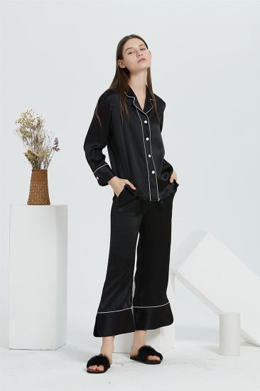 Pure Silk Garment Fabric of Silk Pajamas in Suit