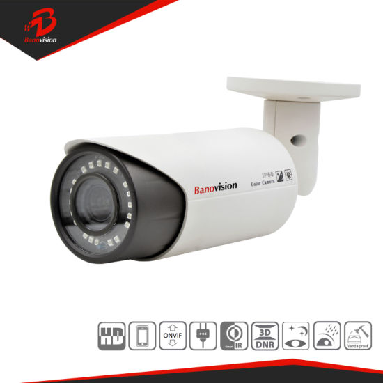 2MP Security CCTV Waterproof IP Network Infrared Camera with Varifocal Lens
