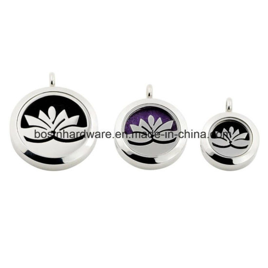 25mm Stainless Steel Aromatherapy Essential Diffuser Locket Charm pictures & photos