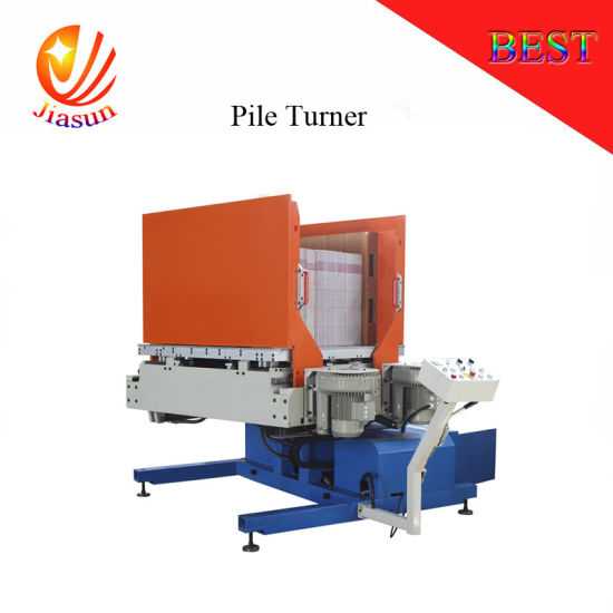 China Pile Turning Aligning Dust Removing Paper Separation Turner